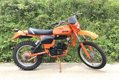 Lot 34-1977 Laverda LH3