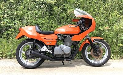 Lot 35-1982 Laverda Montjuic MKII