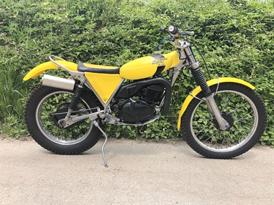 Lot 37-1978 Suzuki Beamish