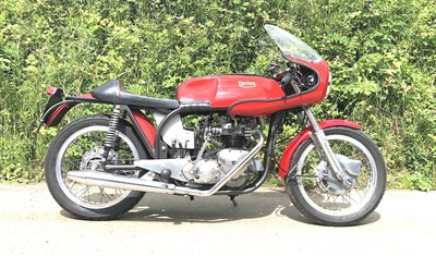 Lot 38-1954 Triton T140E Cafe Racer