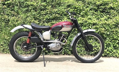 Lot 40-1959 Triumph T20 Tiger Cub