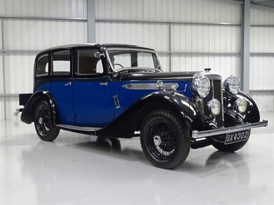 Lot 64 - 1936 Daimler Light 20 Saloon