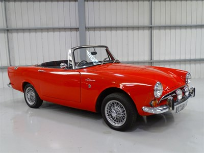 Lot 36 - 1968 Sunbeam Alpine Series V GT