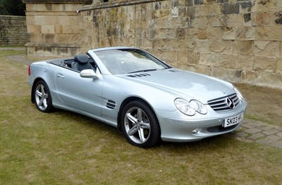 Lot 65 - 2003 Mercedes-Benz SL 350
