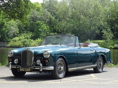 Lot 91 - 1959 Alvis TD21 Drophead Coupe