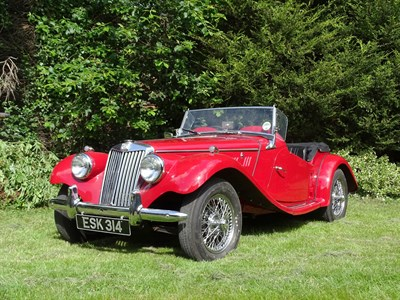 Lot 85 - 1954 MG TF 1250