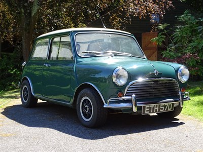 Lot 11-1966 Morris Mini Cooper S Evocation