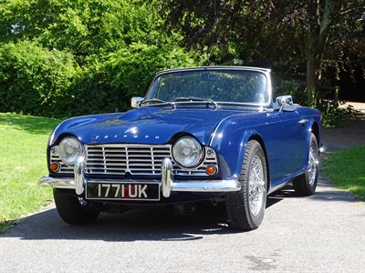 Lot 41 - 1962 Triumph TR4