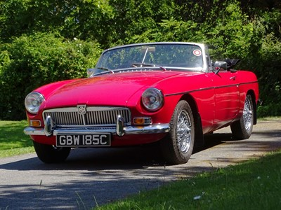 Lot 53-1965 MG B Roadster