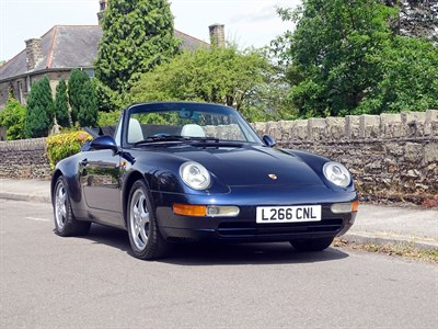 Lot 95 - 1994 Porsche 911 Carrera Cabriolet
