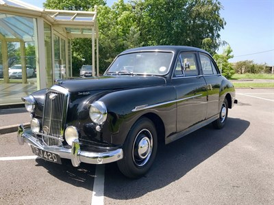 Lot 34 - 1953 Wolseley 4/44 Saloon