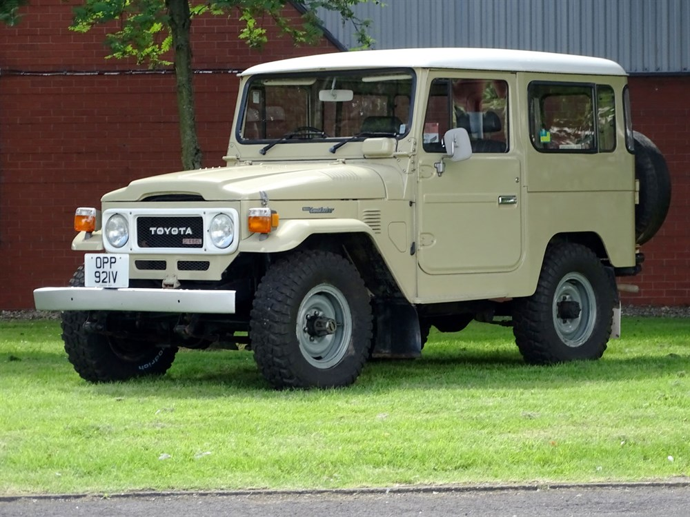 Lot 31-1980 Toyota BJ42 Land Cruiser