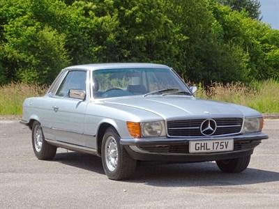 Lot 17-1980 Mercedes-Benz 450 SLC