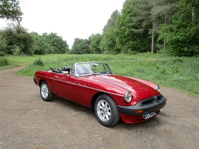 Lot 32 - 1978 MG B Roadster