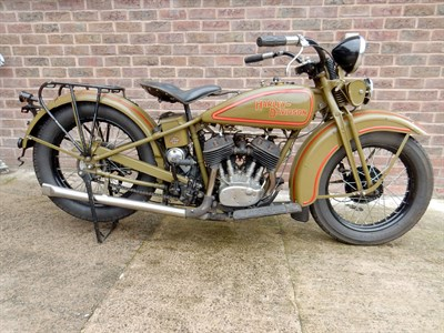 Lot 42-1931 Harley Davidson Model D