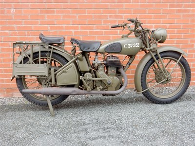 Lot 46-1936 Norton Model 16H WD