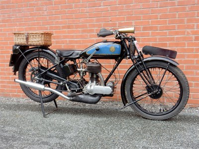 Lot 47-1929 Triumph Model N