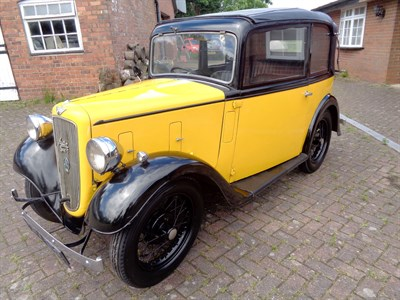 Lot 56-1936 Austin Seven Pearl Cabriolet