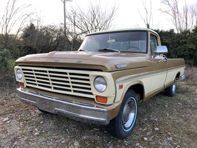 Lot 61-1967 Ford F-100