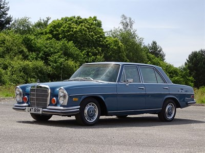 Lot 41 - 1970 Mercedes-Benz 280 S