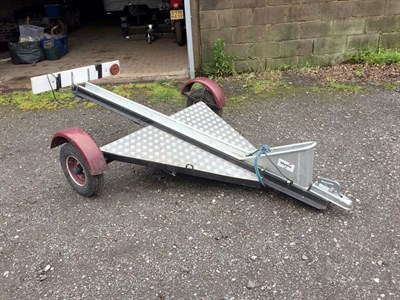 Lot 3-Motorcycle Trailer