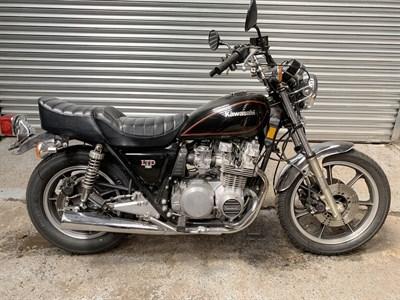 Lot 12-1981 Kawasaki Z750 LTD