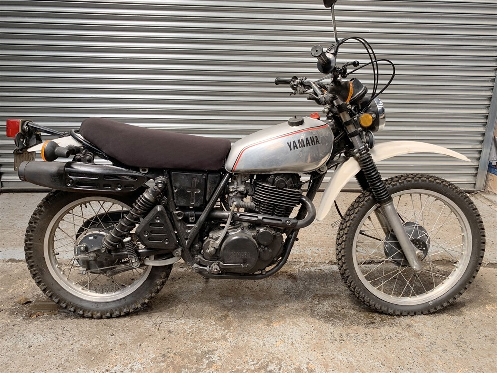 Lot 13-1981 Yamaha XT500