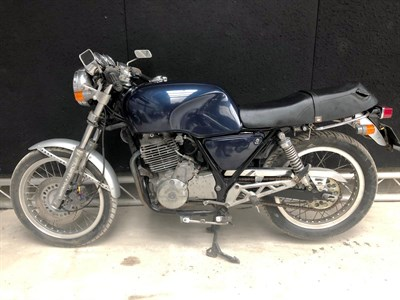 Lot 16-1986 Honda GB400 TT