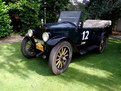 Lot 58 - 1919 Essex 6A Tourer
