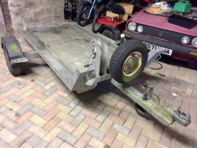 Lot 2-Motorcycle Trailer