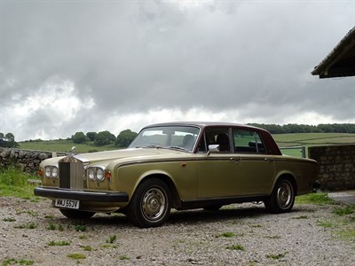 Lot 35 - 1980 Rolls-Royce Silver Shadow II