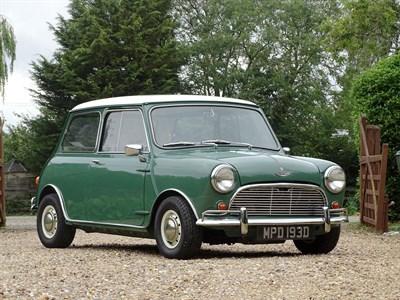 Lot 46-1966 Austin Mini Cooper S 1275