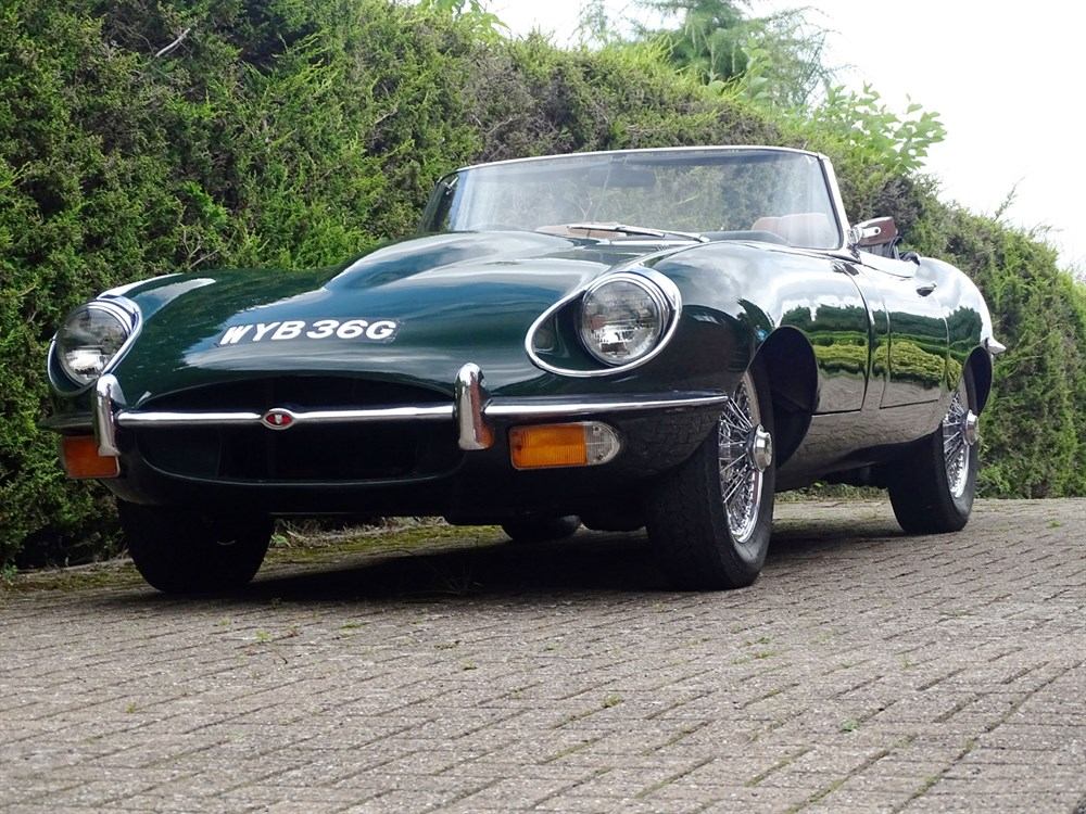 Lot 15-1969 Jaguar E-Type 4.2 Roadster