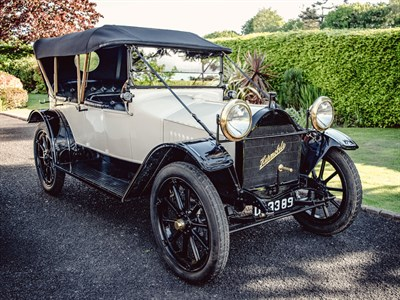 Lot 34-1915 Hupmobile Model HA Tourer