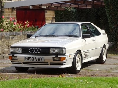 Lot 22-1991 Audi Quattro 20V