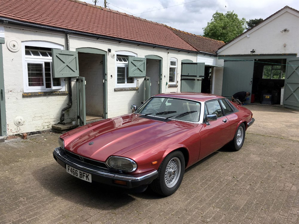 Lot 1 - 1988 Jaguar XJ-S 3.6