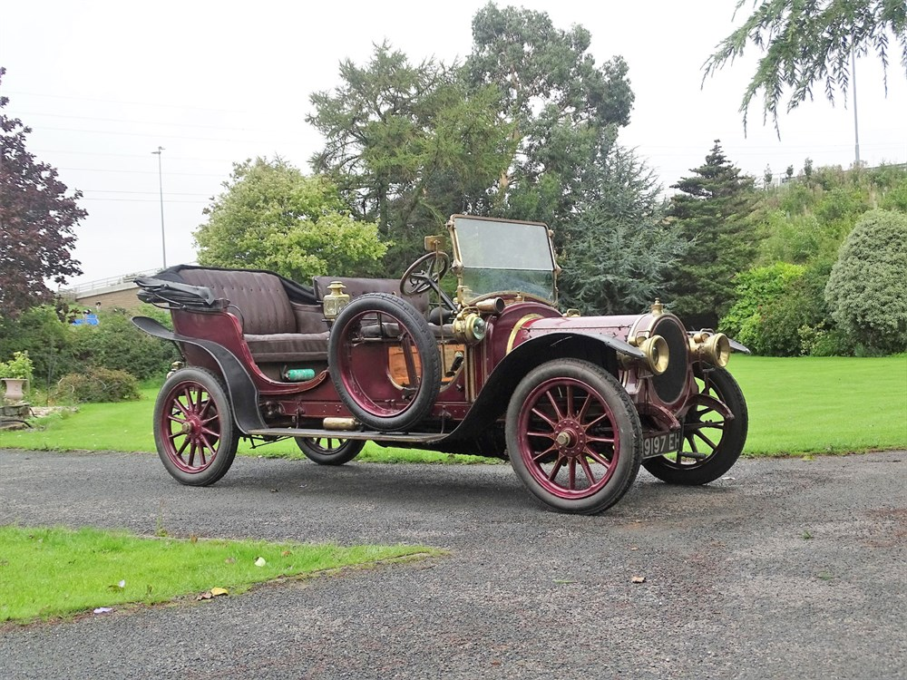 Lot 50-1912 Delaunay Belleville Type IA6 Phaeton