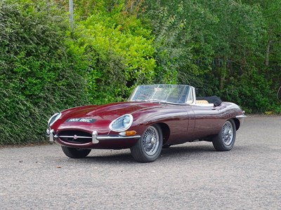 Lot 35-1964 Jaguar E-Type 4.2 Roadster
