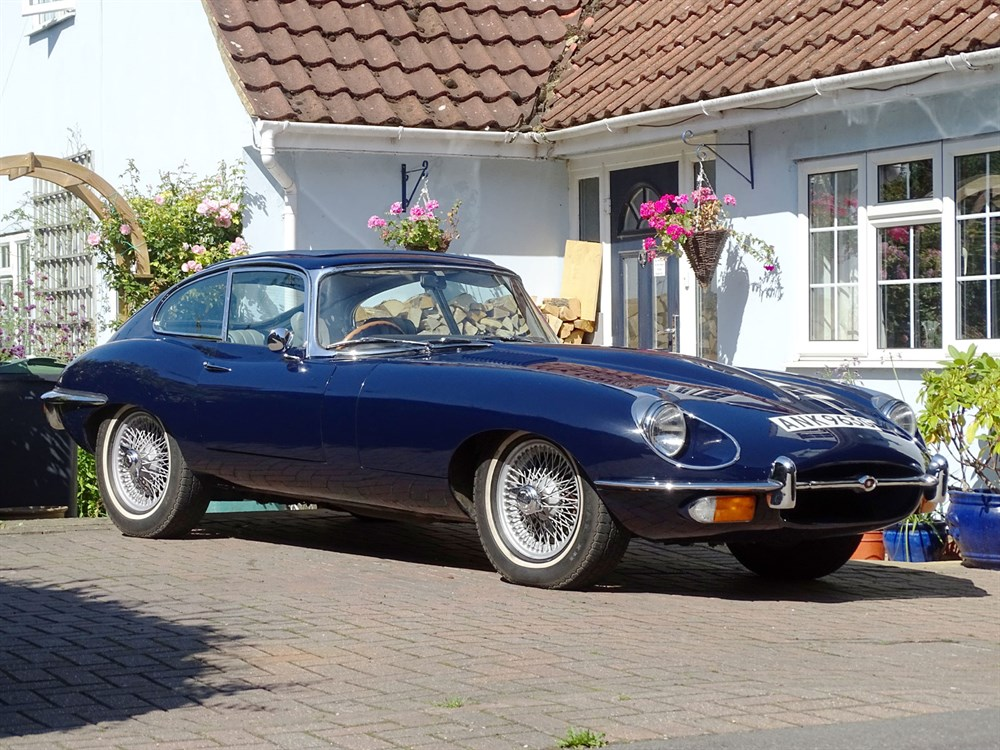 Lot 42-1968 Jaguar E-Type Coupe
