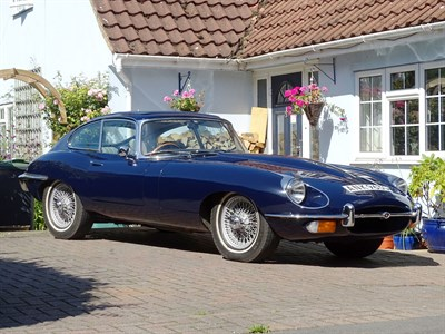 Lot 42-1968 Jaguar E-Type Coupe
