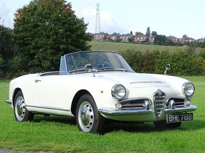 Lot 34 - 1964 Alfa Romeo Giulia 1600 Spider