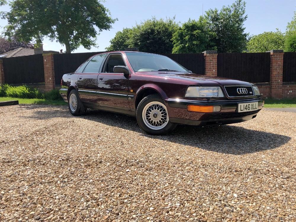 Lot 35-1993 Audi V8 Quattro 4.2