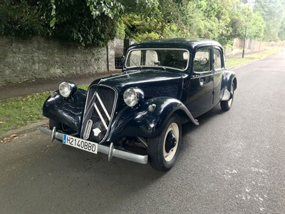 Lot 36-1953 Citroen 11B Traction Avant