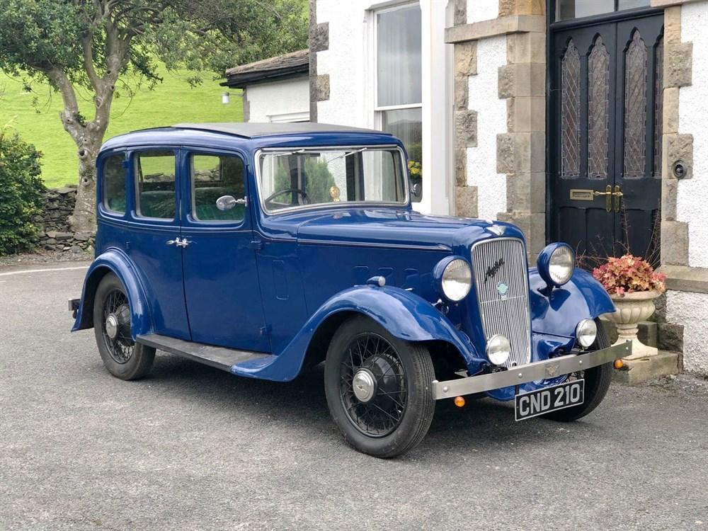 Lot 32 - 1936 Austin 12/4 Light Ascot Saloon