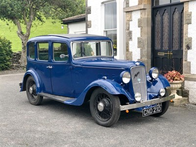 Lot 32-1936 Austin 12/4 Light Ascot Saloon