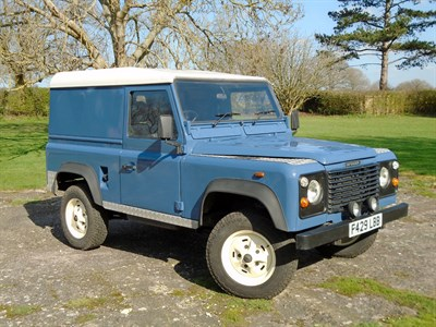 Lot 17-1988 Land Rover 90