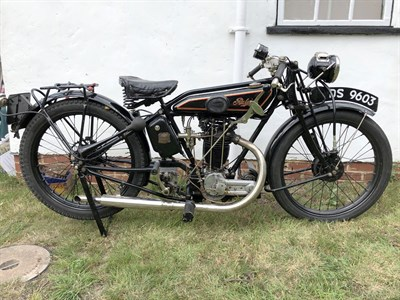 Lot 86 - 1926 Raleigh Model 6