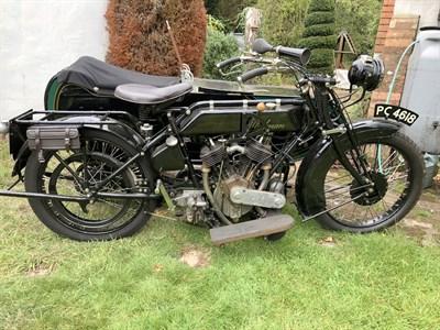 Lot 87-1924 Stedman 980cc Combination