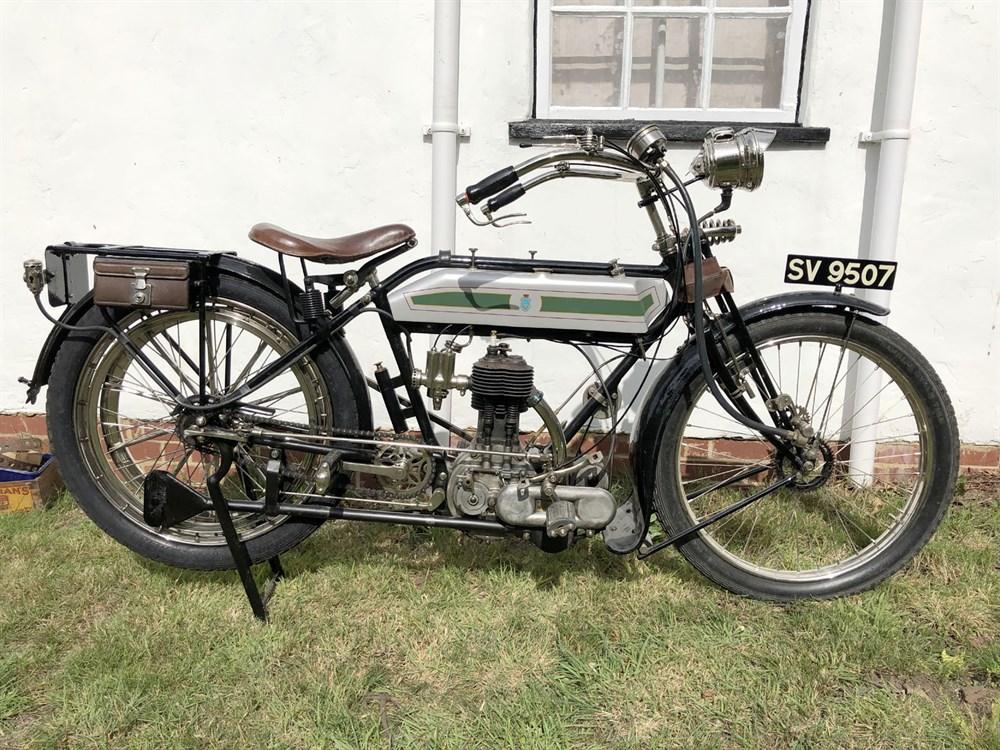 Lot 88-1914 Triumph Model A
