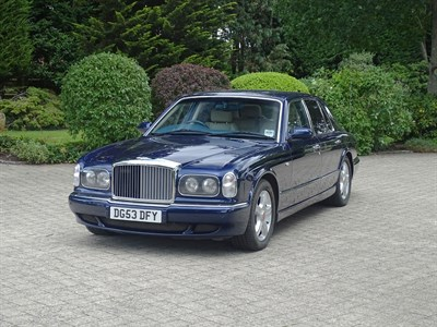 Lot 38-2003 Bentley Arnage R